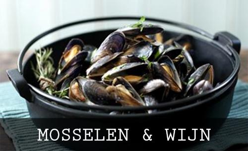 Mosselen, Oesters & wijnen