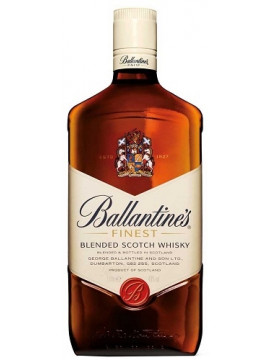 Ballantine Whiskey in Liter fles. Volgens Jim Murray: A major work of art!