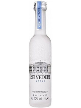 Belvedere Poolse Vodka in 5cl flesjes