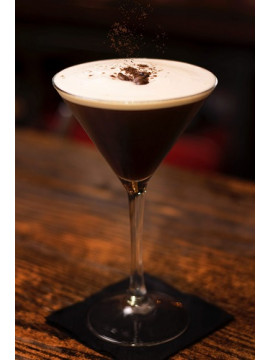 Espresso Martini: something that wakes me up and then fucks me up