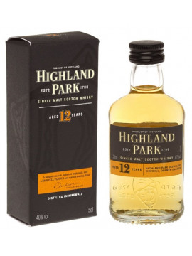 Highland Park 12 jaar Whiskey 1798 mini