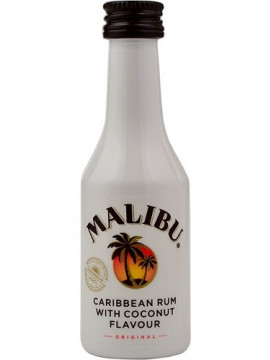 Malibu Coconut Rum Likeur 5cl mini