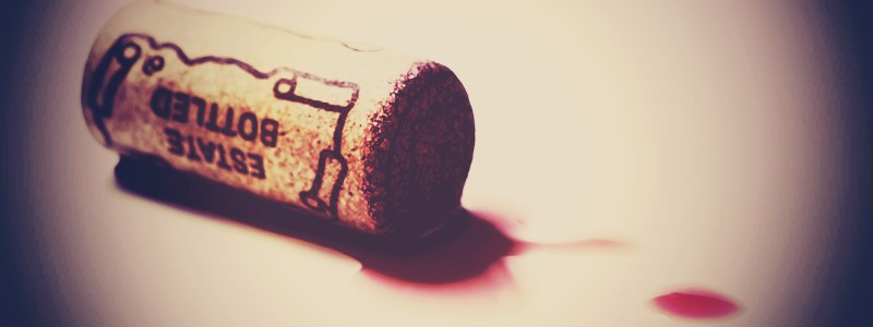 wijn smaakt naar kurk